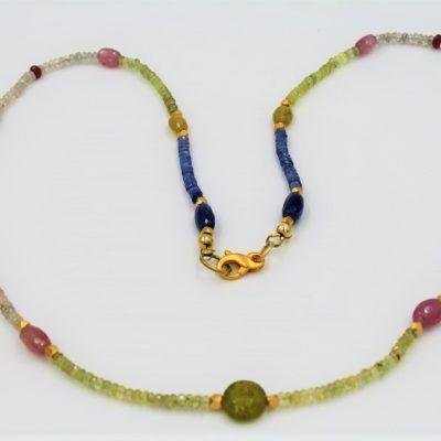 Multi-Sapphire Necklace